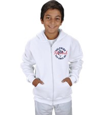 Dolphin Spirit- Hoodie-Childrens Çocuk Kapşonlu Fermuarlı Show your Dolphin pride with our first official design in the Dolphin Spirit Shop 