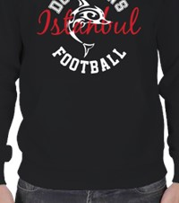 Football Team Hoodie Erkek Kapşonlu Time for team pride 