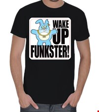 Wake Up Funkster Erkek Tişört Wake Up Funkster 16010902155231223451692315-