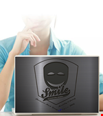 Smile Group Laptop Sticker