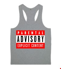 Parental Advisory Bayan  Erkek Body Gym Atlet Parental Advisory  16050412265731223451718995-