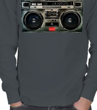 •HA81• Boombox in The City ERKEK SWEATSHIRT 128128;HA81128128; 16102503014831223451883156-